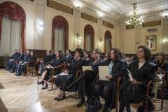 Acto de Jura o Promesa de Graduados Sociales 14112014-Detalle de asistentes