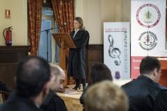 Acto de Jura o Promesa de Graduados Sociales 14112014-Lectura del acuerdo de celebración del Solemne Acto